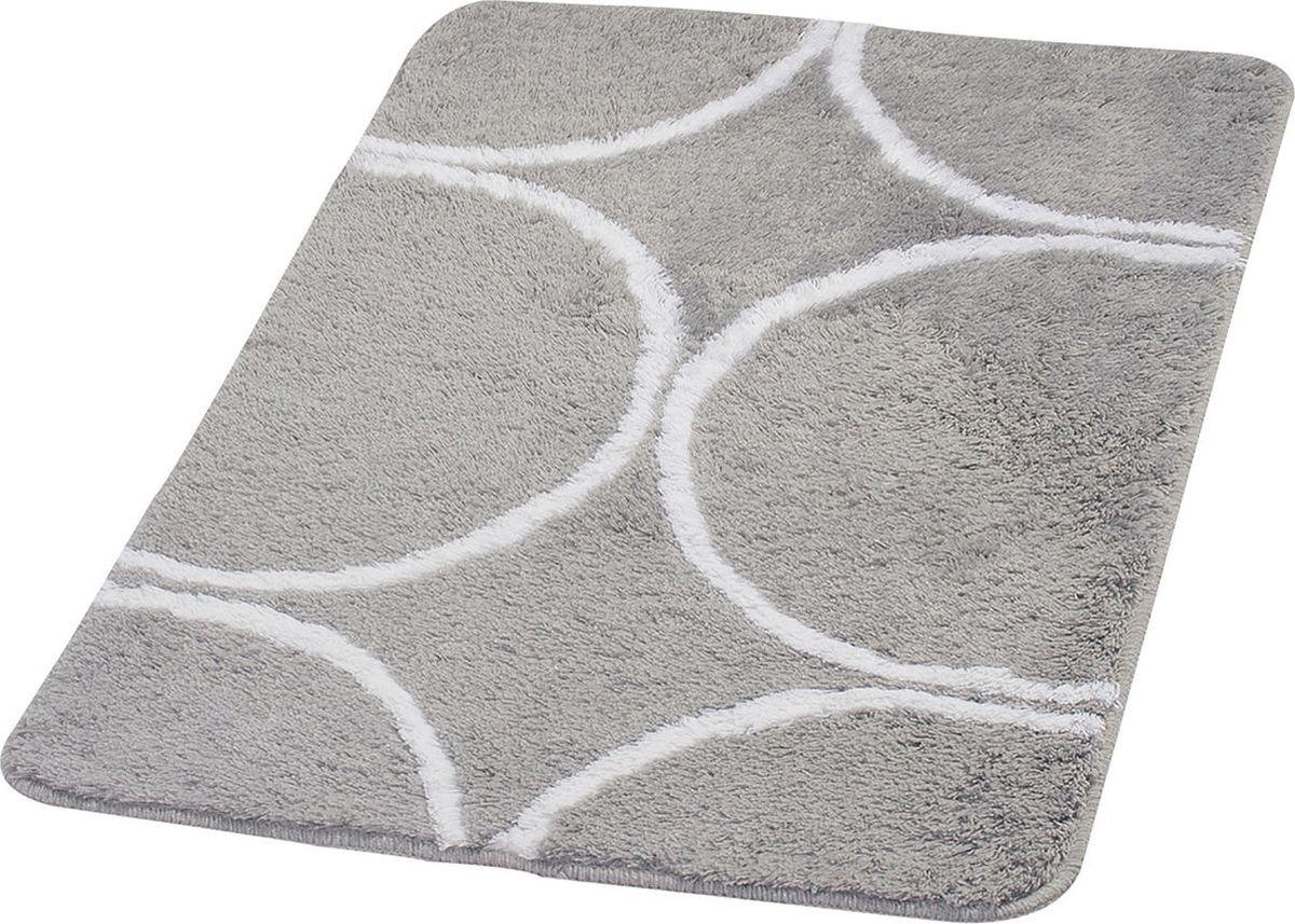 Коврик для ванной Ridder Circle, цвет: серый, 70 х 120 см коврик для ванной комнаты ridder istanbul 790317 60х90см