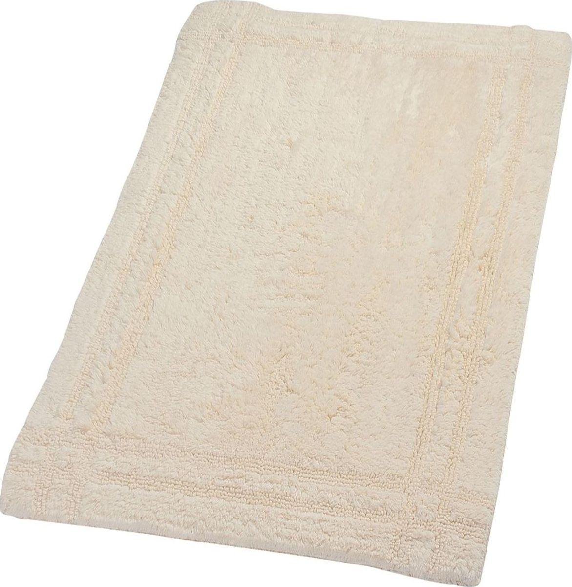 Высококачественный двусторонний немецкий коврик Antigua - подарок для ваших ножек. Выполнен из 100% хлопка.  Высота ворса - 15 мм.  Стирать при щадящем режиме 30°С.  Можно сушить в сушильной машине.  Не подвергать химической чистке.  Не гладить.