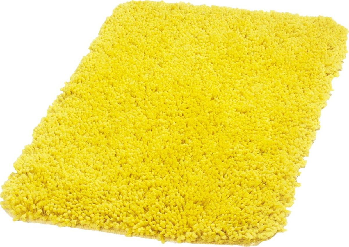 Коврик для ванной Ridder Softy, цвет: желтый, 50 х 75 см