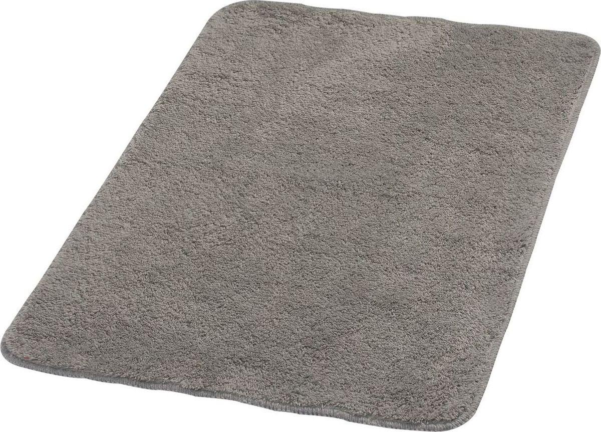 Коврик для ванной Ridder Palma, цвет: серый, 70 х 120 см babyono коврик противоскользящий для ванной цвет голубой 70 х 35 см