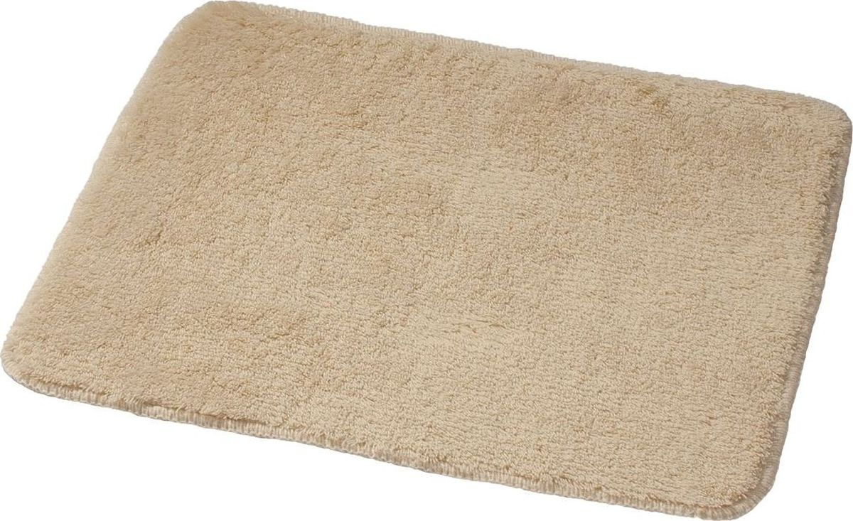 Коврик для ванной Ridder Palma, цвет: бежевый, 55 х 50 см коврик для ванной ridder grand prix цвет белый синий 55 х 85 см