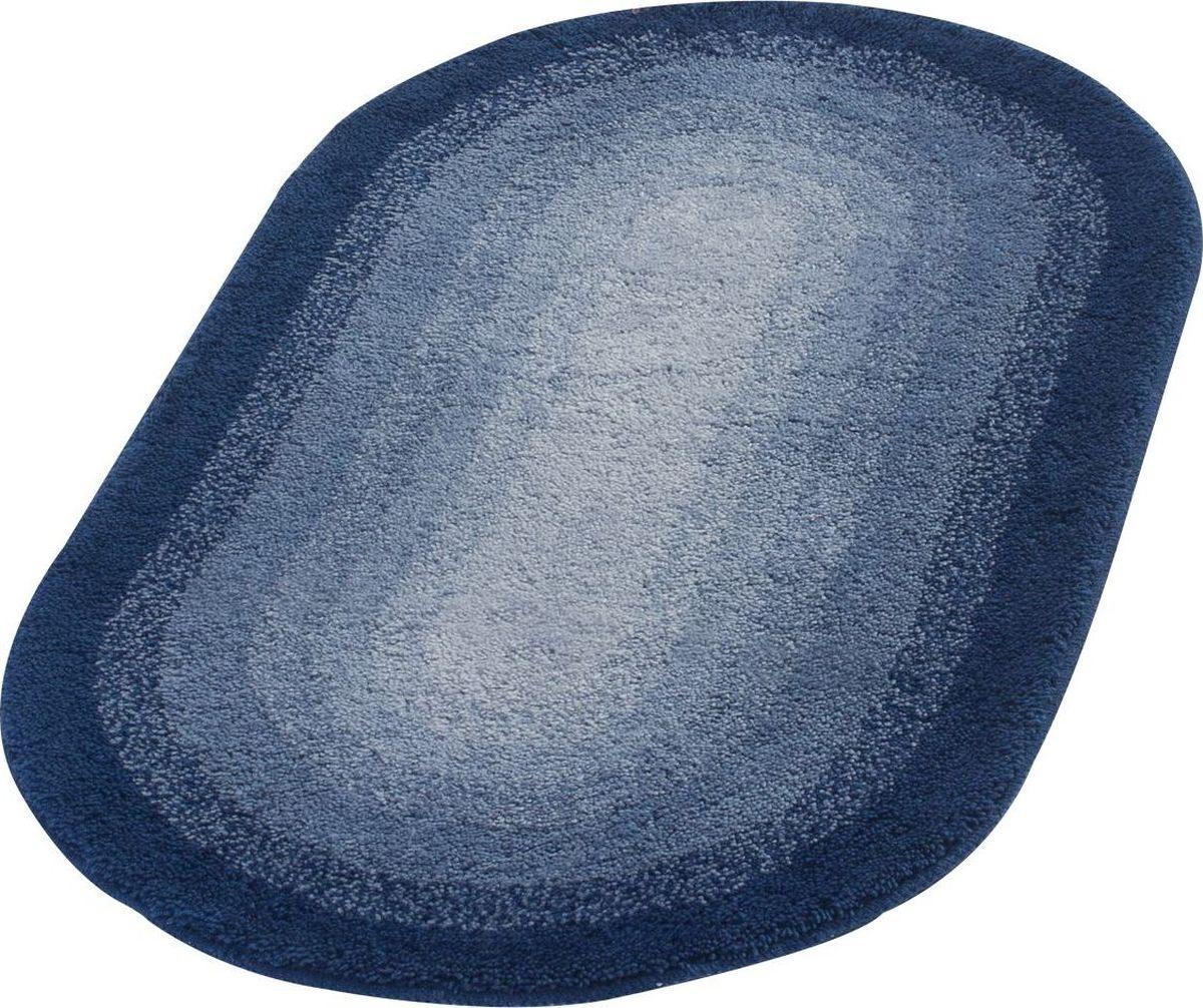 Коврик для ванной Ridder Hawaii, цвет: синий, голубой, 60 х 100 см