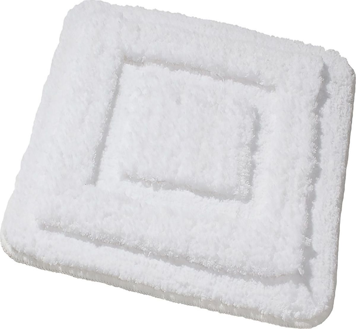 Коврик для ванной Ridder Juwel, цвет: белый, 55 х 50 см babyono коврик противоскользящий для ванной цвет зеленый 55 х 35 см
