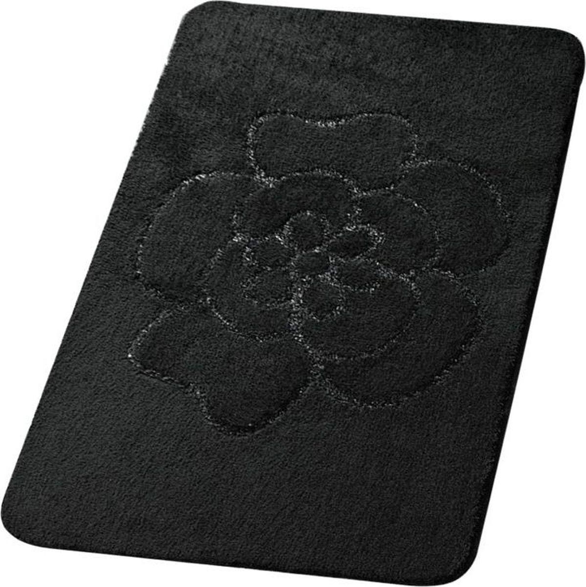 Коврик для ванной Ridder Diamond, цвет: черный, 60 х 90 см