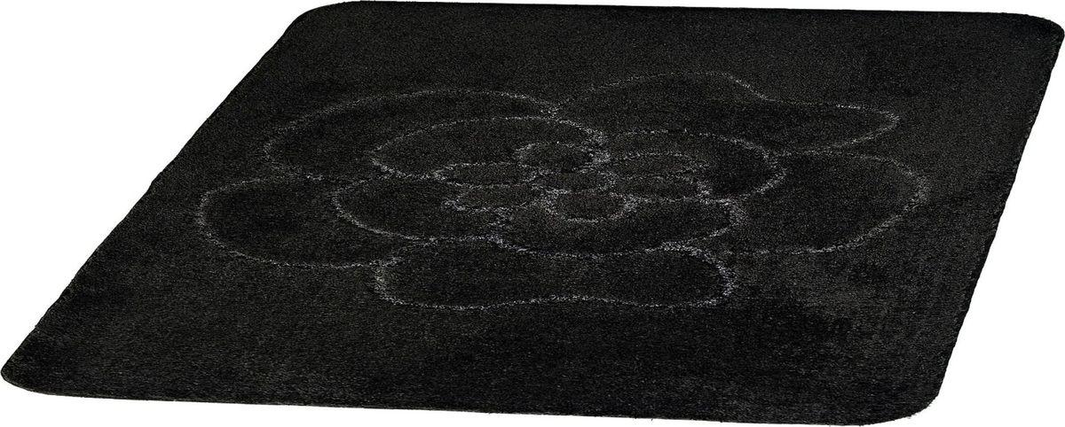 Коврик для ванной Ridder Diamond, цвет: черный, 55 х 50 см