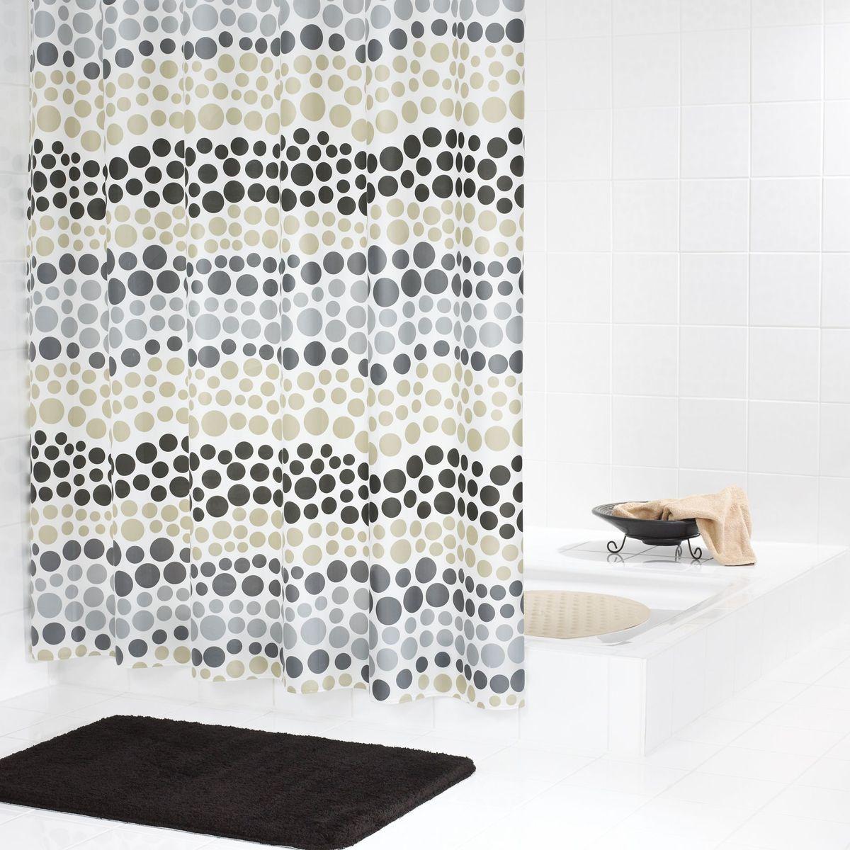 """Высококачественная немецкая шторка Ridder """"Layer"""" создаст прекрасное настроение в ванной комнате. Данное изделие имеет антигрибковое, водоотталкивающее и антистатическое покрытие. Машинная стирка. Глажка при низкой температуре."""