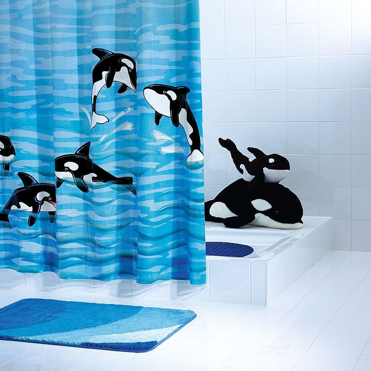 Штора для ванной комнаты Ridder Orka, 180 х 200 см шторы для ванной ridder штора для ванных комнат fleur оранжевый 180 200