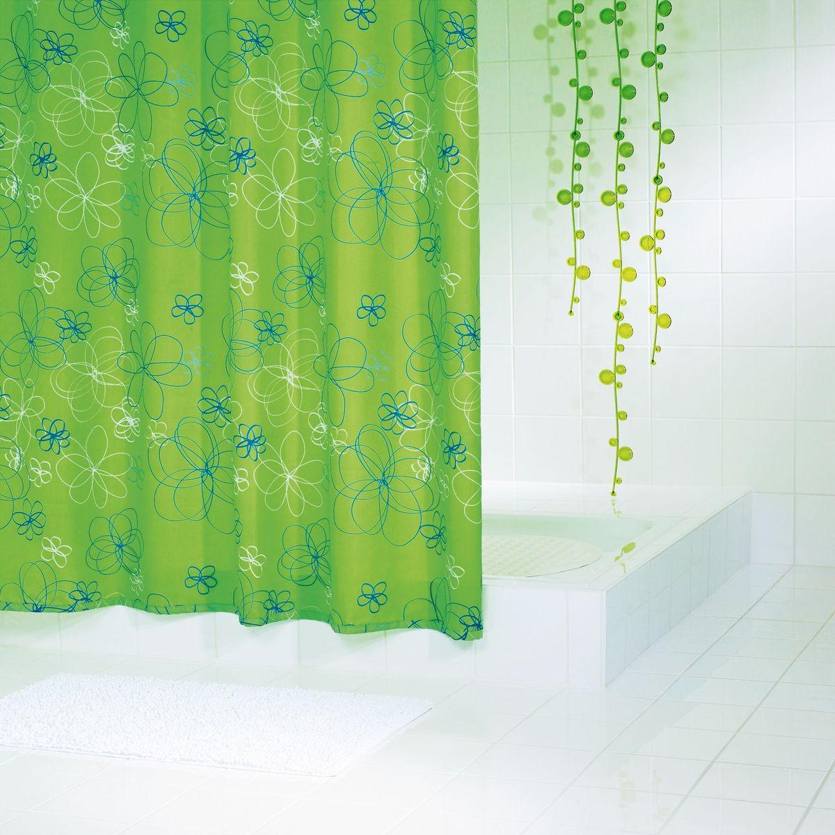 Штора для ванной комнаты Ridder  Hula-Hup , 180 х 200 см - Шторки, кольца и карнизы для ванной