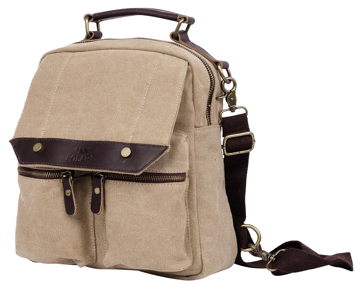 Рюкзак городской Polar  Adventure , цвет: бежевый, 7,3 л. п1449-13 - Рюкзаки