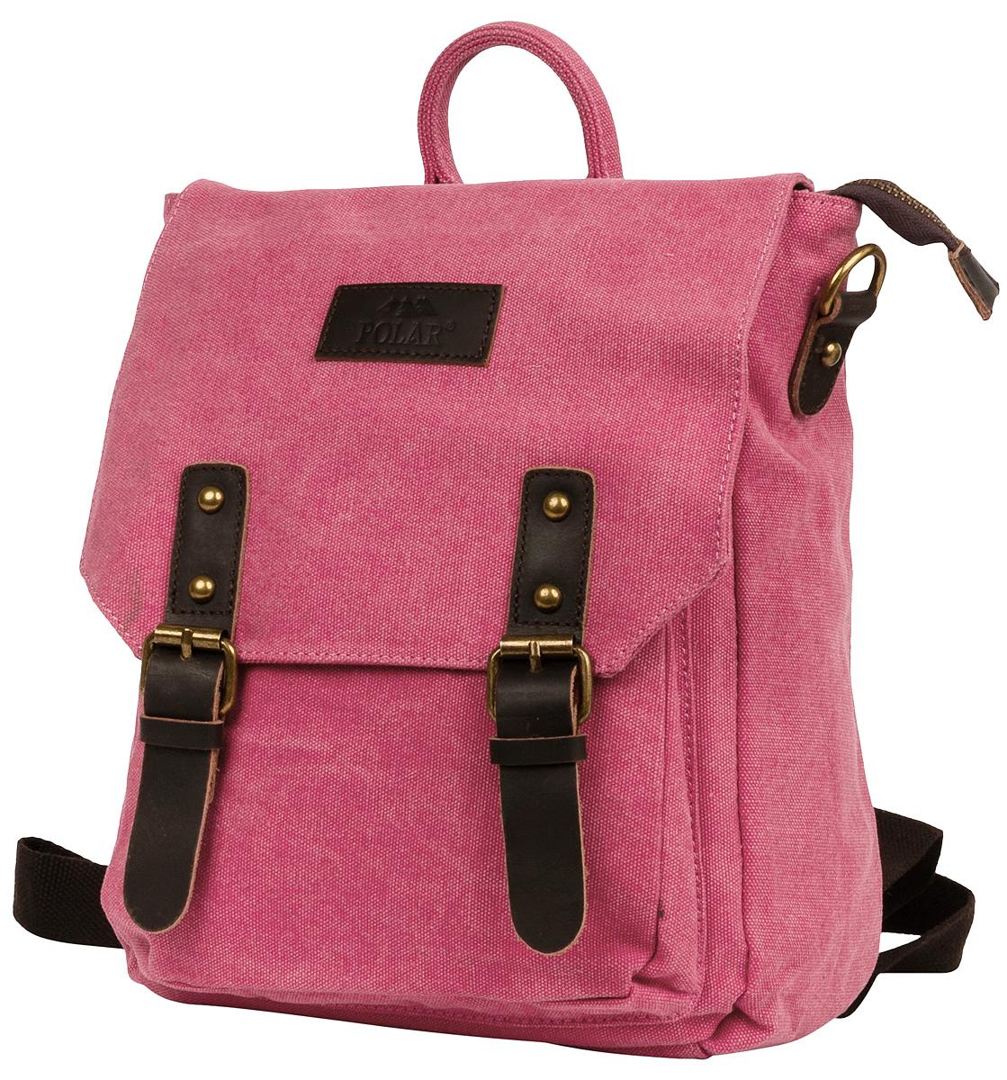 Рюкзак городской женский Polar Adventure, цвет: розовый, 8,65 л. 1510-01 red рюкзак polar polar po001burvn31
