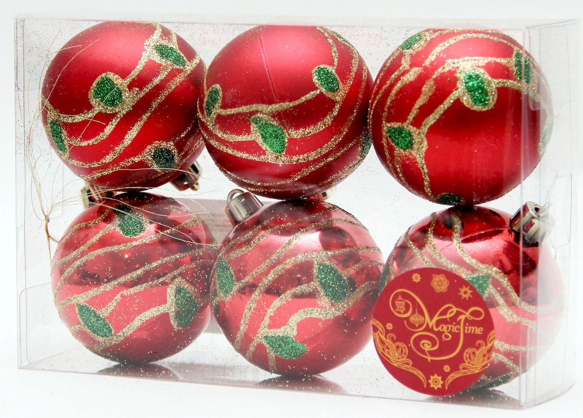 """Новогоднее подвесное украшение Magic Time """"Павлин"""" прекрасно подойдет  для праздничного декора новогодней ели. Изделия выполнены из высококачественного пластика. Для удобного  размещения на елке на украшениях предусмотрены ушки и веревочки.   Елочная игрушка - символ Нового года. Она несет в себе волшебство и красоту праздника.  Создайте в своем доме атмосферу веселья и радости, украшая новогоднюю елку нарядными  игрушками, которые будут из года в год накапливать теплоту воспоминаний.  Откройте для себя удивительный мир сказок и грез. Почувствуйте волшебные минуты  ожидания праздника, создайте новогоднее настроение вашим дорогим и близким."""