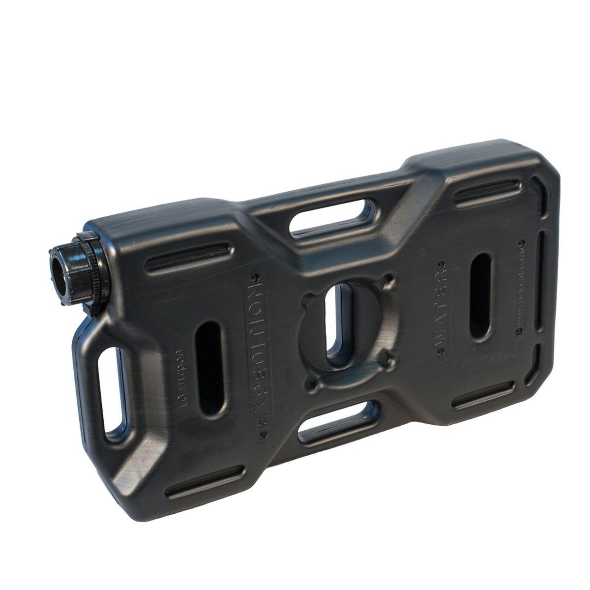 Канистра автомобильная Экстрим Плюс, цвет: черный, 10 л канистра для топлива dollex с носиком 10 л