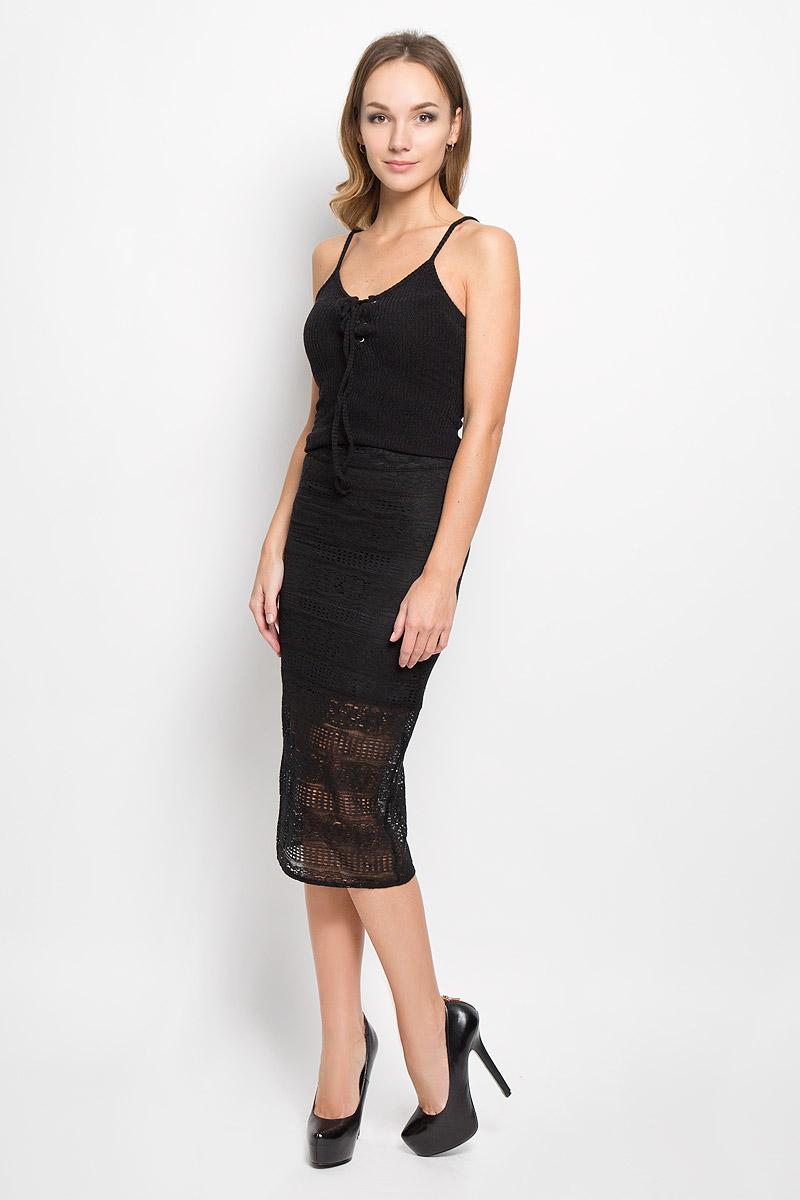Юбка Glamorous, цвет: черный. AC0545. Размер XS (42) glamorous gl008ewhnj90