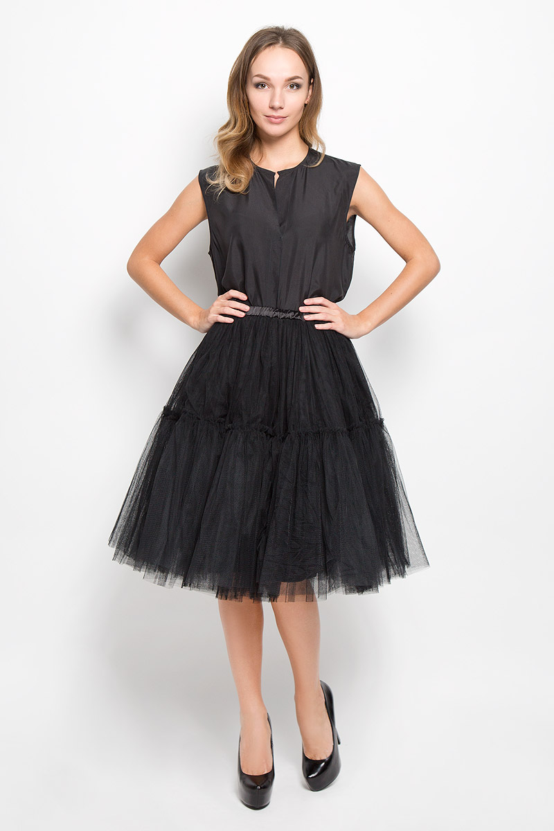 Юбка Glamorous, цвет: черный. AV0012. Размер XS (42) джинсы glamorous glamorous gl008ewqpj48