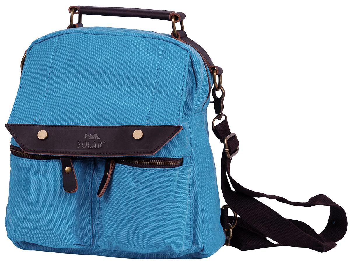 """Рюкзак городской Polar """"Adventure"""", цвет: голубой, 7,3 л. п1449-04 d.blue"""