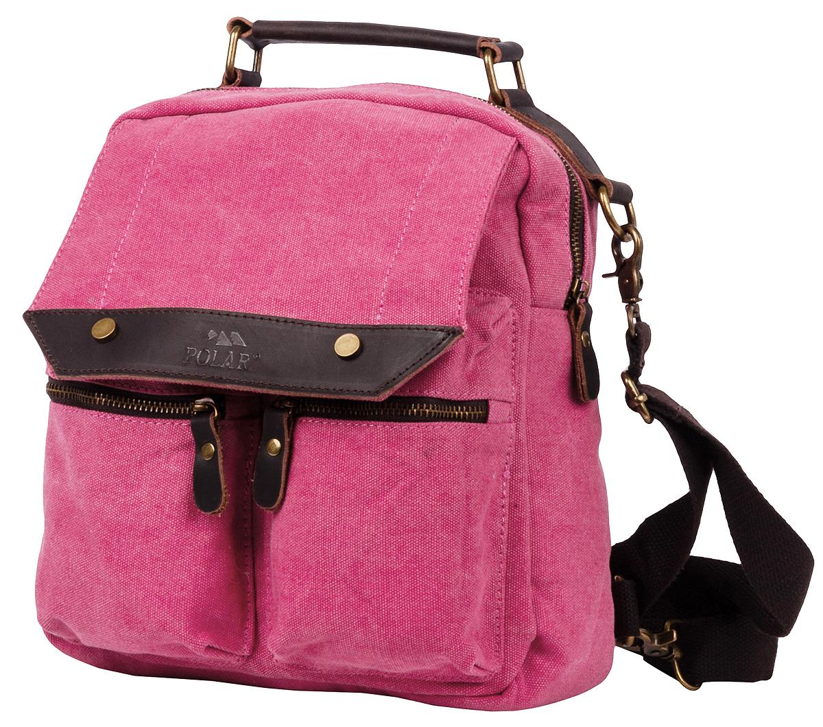 Рюкзак городской Polar Adventure, цвет: розовый, 7,3 л. п1449-01 red
