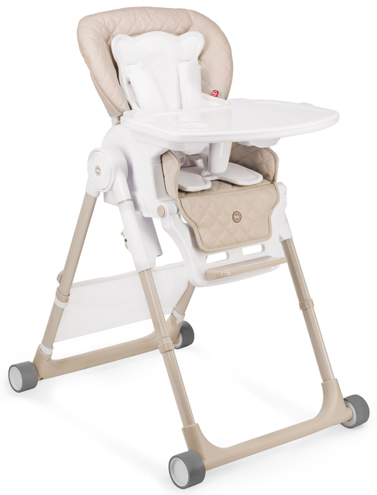 Happy Baby Стульчик для кормления William V2 цвет бежевый -  Все для детского кормления