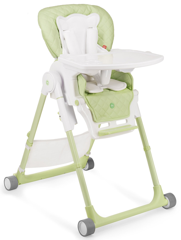Happy Baby Стульчик для кормления William V2 цвет зеленый стульчик для кормления happy baby william v2 бежевый