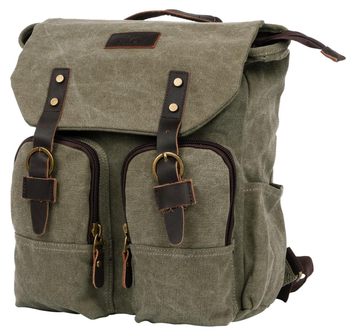 Рюкзак городской мужской Polar Adventure, цвет: хаки, 12 л. п3788-08 green