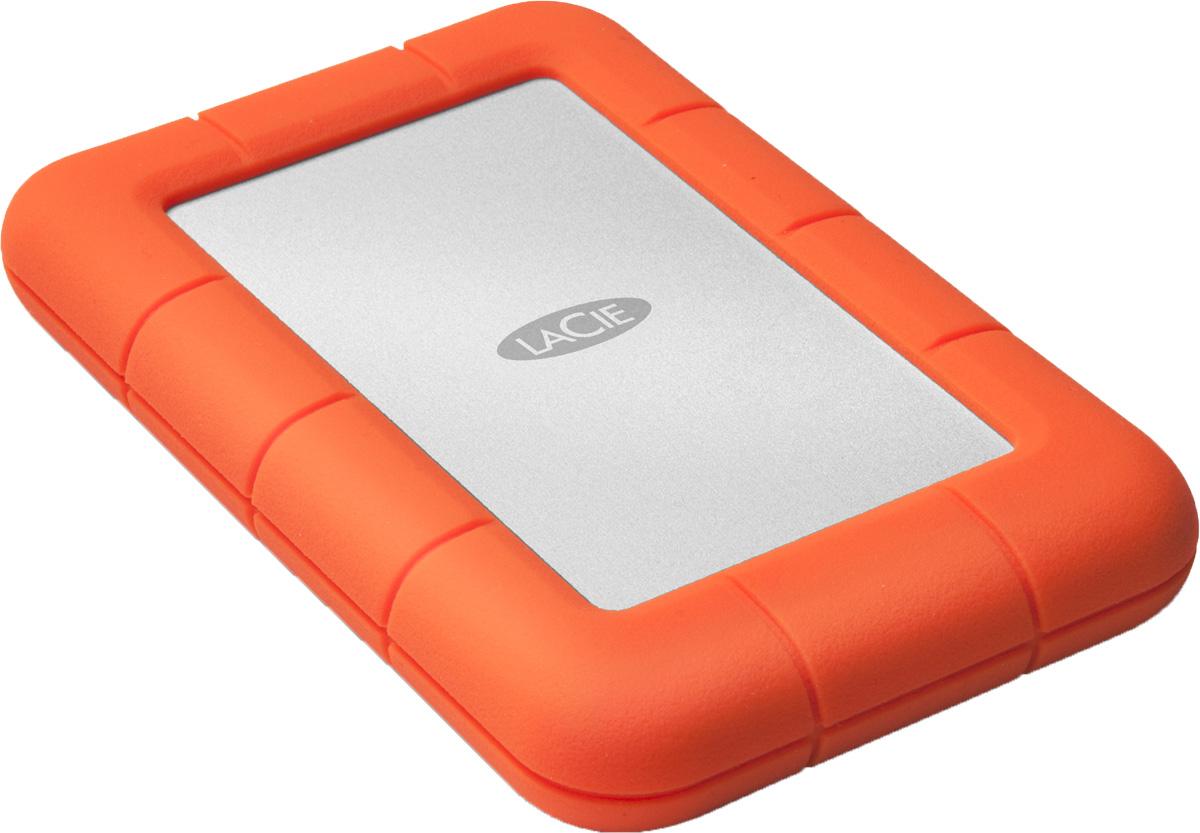 Фото - LaCie Rugged Mini 4TB внешний жесткий диск (LAC9000633) tsinghua tongfang thtf dms xh120 120g шифрование ударопрочный 2 5 дюймовый мобильный жесткий диск черный