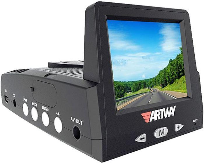 Artway MD-102, Black видеорегистратор с радар-детектором
