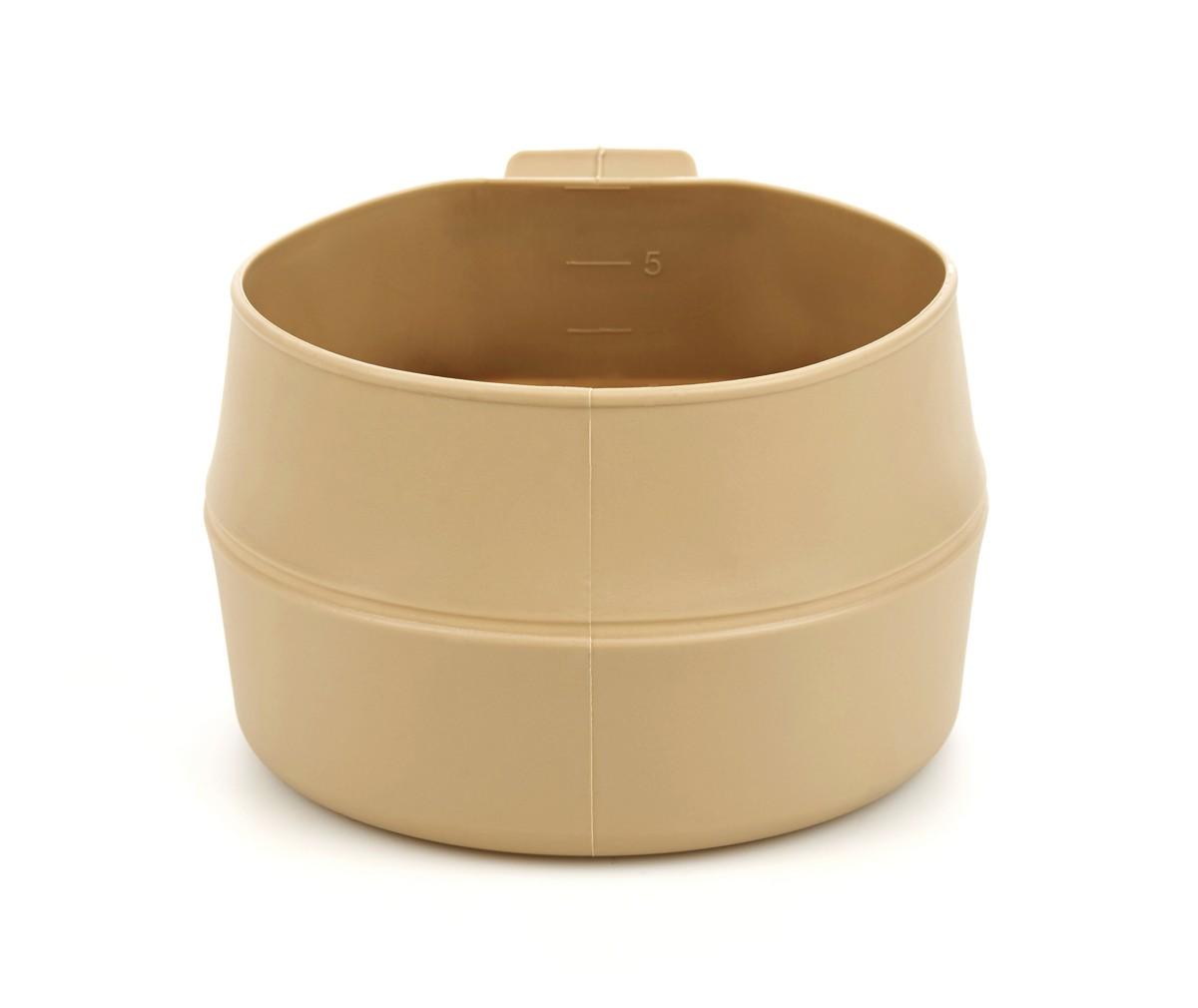 Кружка складная Wildo Fold-a-Cup Big, портативная, цвет: пустынный, 0,6 л