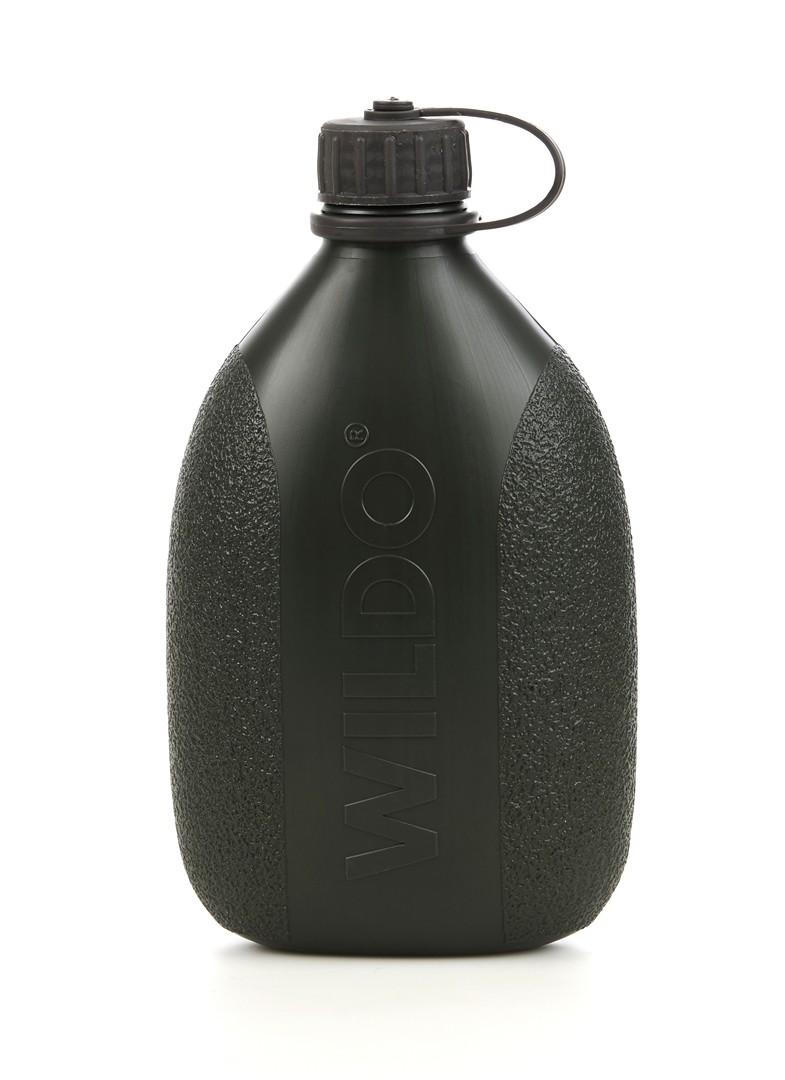 Фляга Wildo Hiker Bottle, цвет: темно-оливковый, 0,7 л тележка для фляги в твери