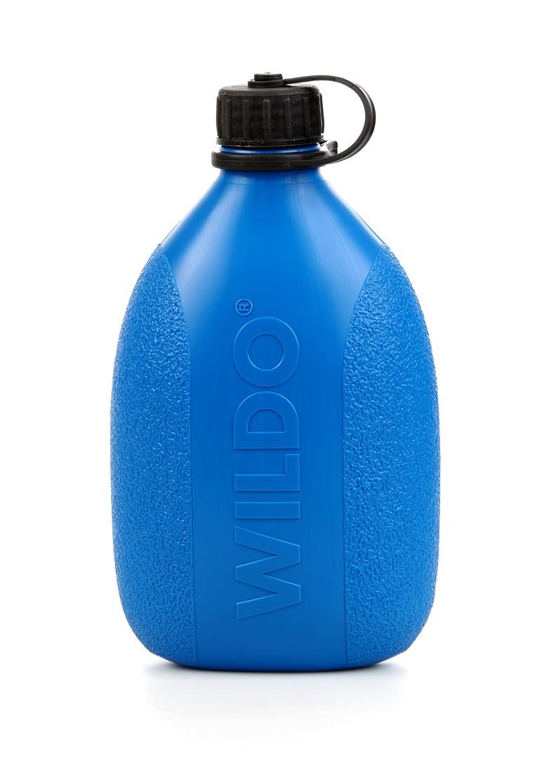 Фляга Wildo Hiker Bottle, цвет: синий, черный, 0,7 л wildo