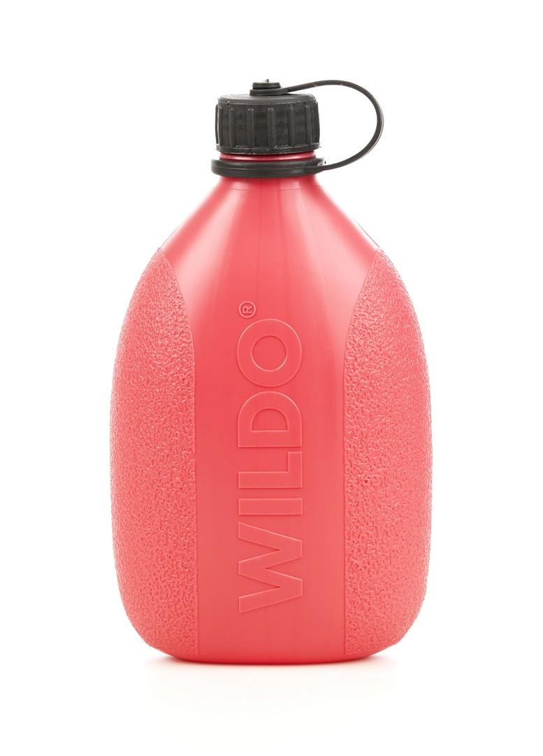 Фляга Wildo Hiker Bottle, цвет: розовый, черный, 0,7 л wildo