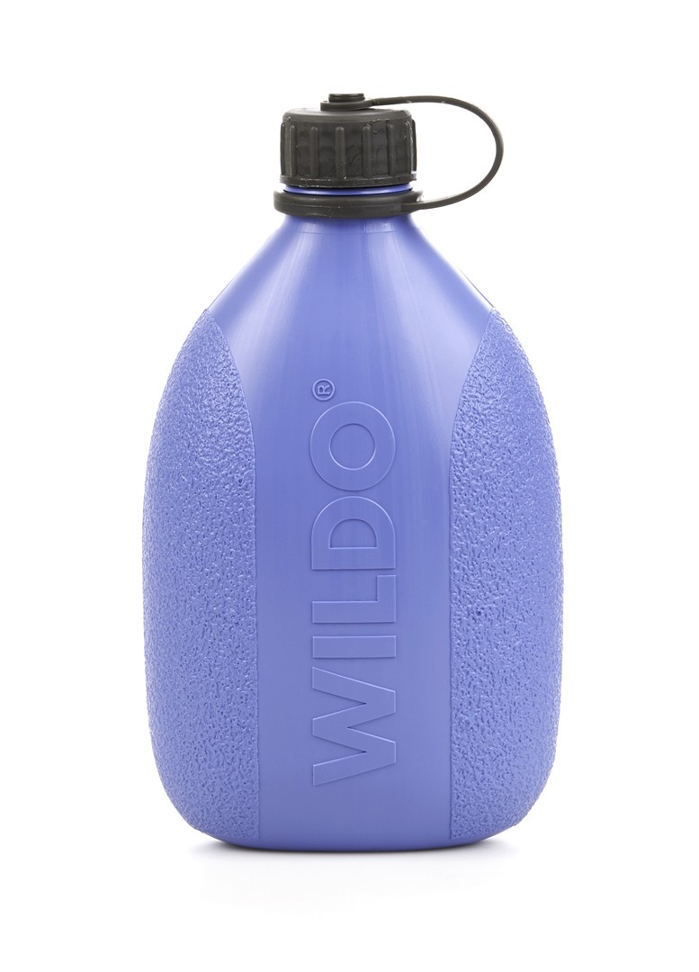 Фляга Wildo Hiker Bottle, цвет: черничный, 0,7 л wildo