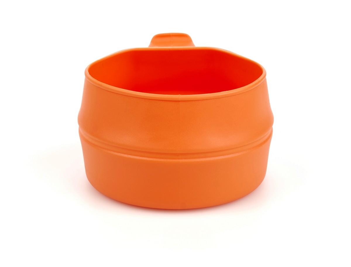 Кружка складная Wildo Fold-a-Cup, портативная, цвет: оранжевый, 0,25 л