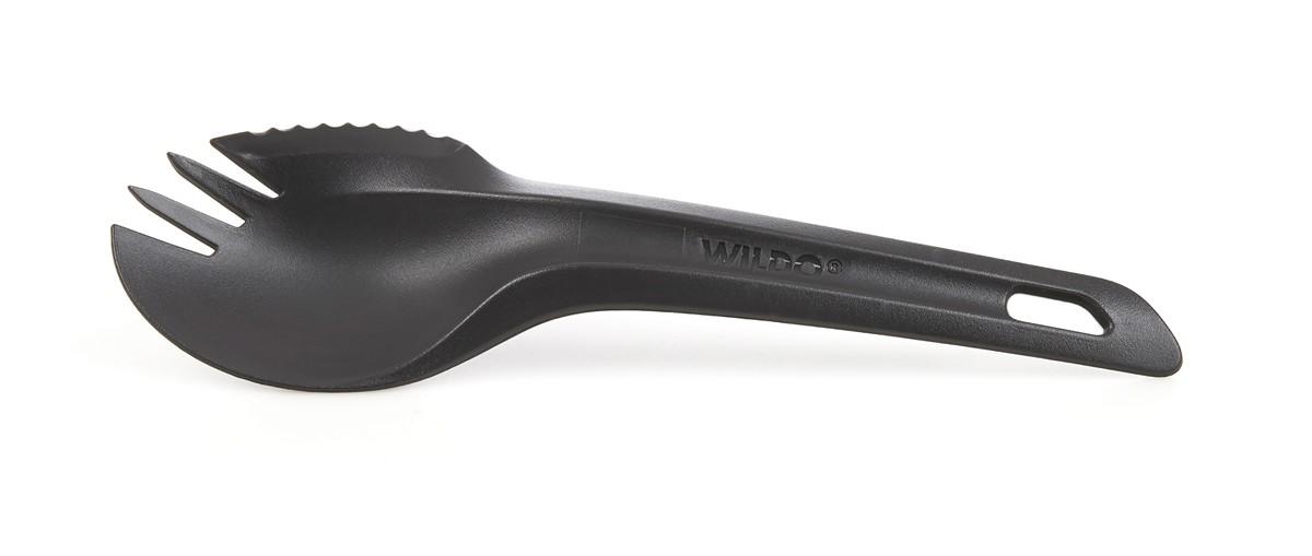 Ловилка Wildo Spork, цвет: темно-серый, длина 16,5 см ловилка light my fire spork original цвет голубой металлик серебристый 17 см 2 шт
