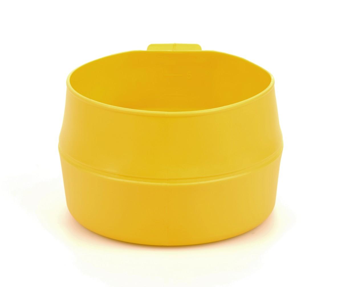 Кружка складная Wildo Fold-a-Cup Big, портативная, цвет: лимонный, 0,6 л