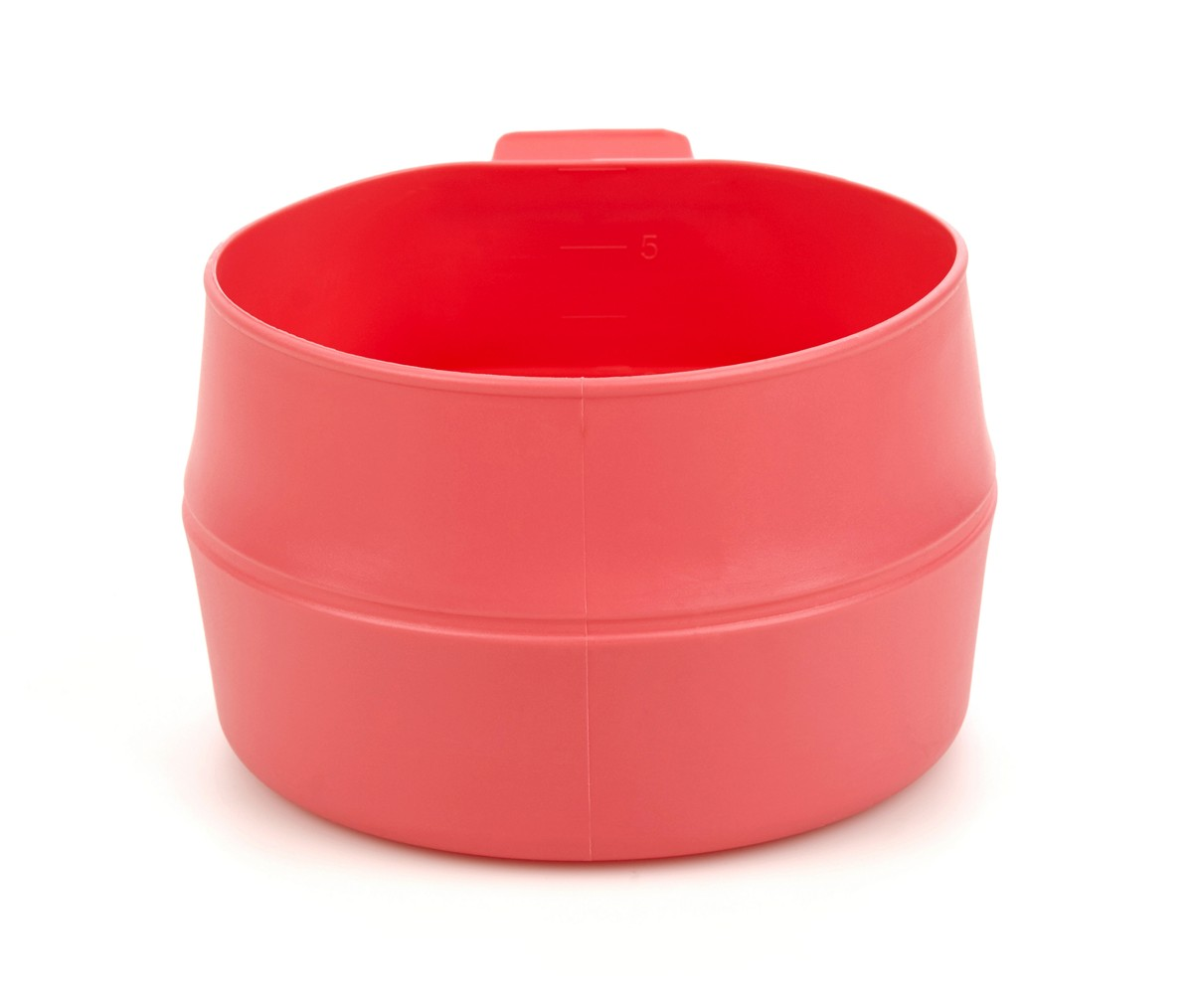 Кружка складная Wildo Fold-a-Cup Big, портативная, цвет: розовый, 0,6 л