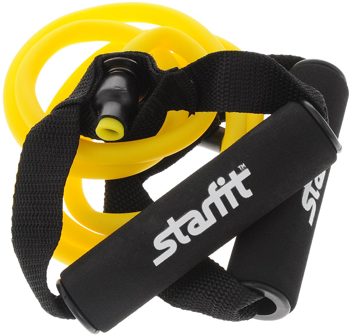 Эспандер многофункциональный Starfit ES-602, 0,6 х 0,9 х 140 см эспандер лыжника пловца starfit es 901 цвет желтый 0 6 х 0 9 х 140 см 2 кг