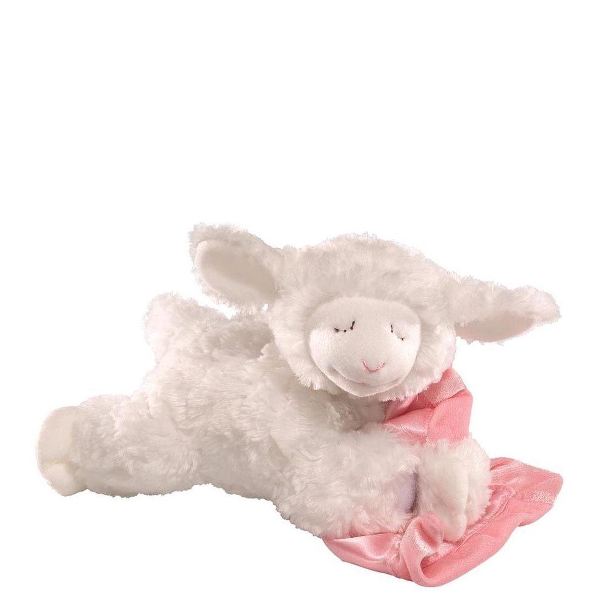 Gund Мягкая игрушка Prayer Winky Lamb Pink 15 см