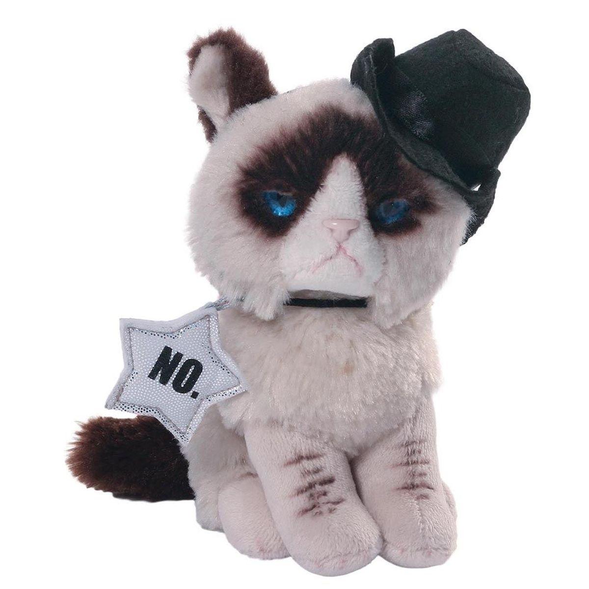 Gund Мягкая игрушка Grumpy Cat Cowboy 12,5 см gund мягкая игрушка velvetino с зеленым шарфом 30 5 см