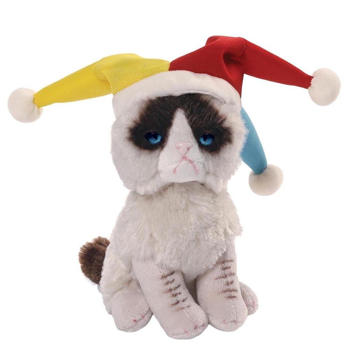 Gund Мягкая игрушка Grumpy Cat Jester 12,5 см мягкие игрушки gund игрушка мягкая itty bitty boo daisy boo 12 5 см gund
