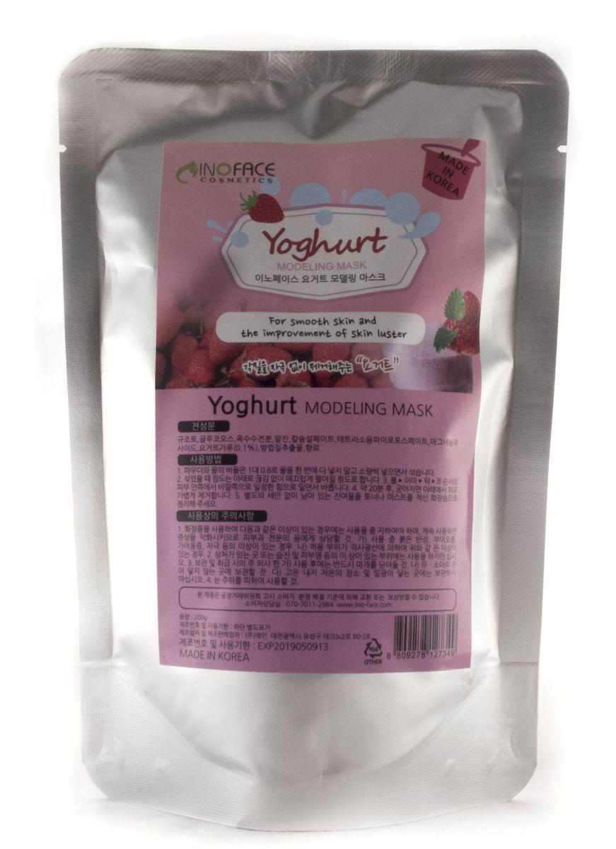 Inoface Альгинатная маска с йогуртом для интенсивного увлажнения и сияния кожи, 200 г127349Альгинатная маска с йогуртом интенсивно увлажнит кожу и сделает ее сияющей и здоровой, благодаря белкам, лактозе, витаминам и минералам, входящим в состав йогурта. Маска сделает лицо ярче, отшелушит ороговевшие клетки. Витамины А и B способствуют в составе йогурта способствуют регенерации клеток кожи, ускоряют процесс заживления, а витамин С усиливает выработку собственного коллагена кожей.