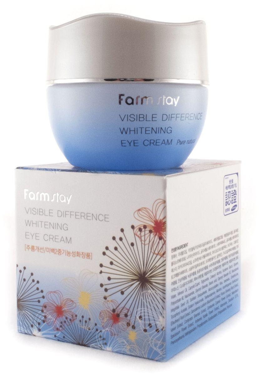 FarmStay Крем осветляющий и увлажняющий для кожи вокруг глаз, 50 г7720250Крем для век осветляющий создан на экстрактах восточной медицины.
