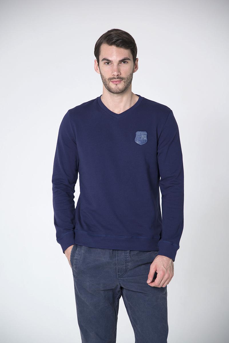 Свитшот мужской BeGood, цвет: темно-синий. AW16-BGUZ-823A. Размер L (50) свитшот мужской begood цвет темно синий aw16 bguz 823a размер l 50