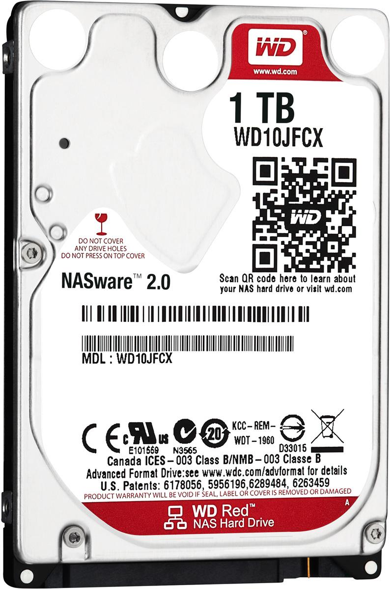 WD Red 1TB внутренний жесткий диск (WD10JFCX) - Комплектующие для компьютера