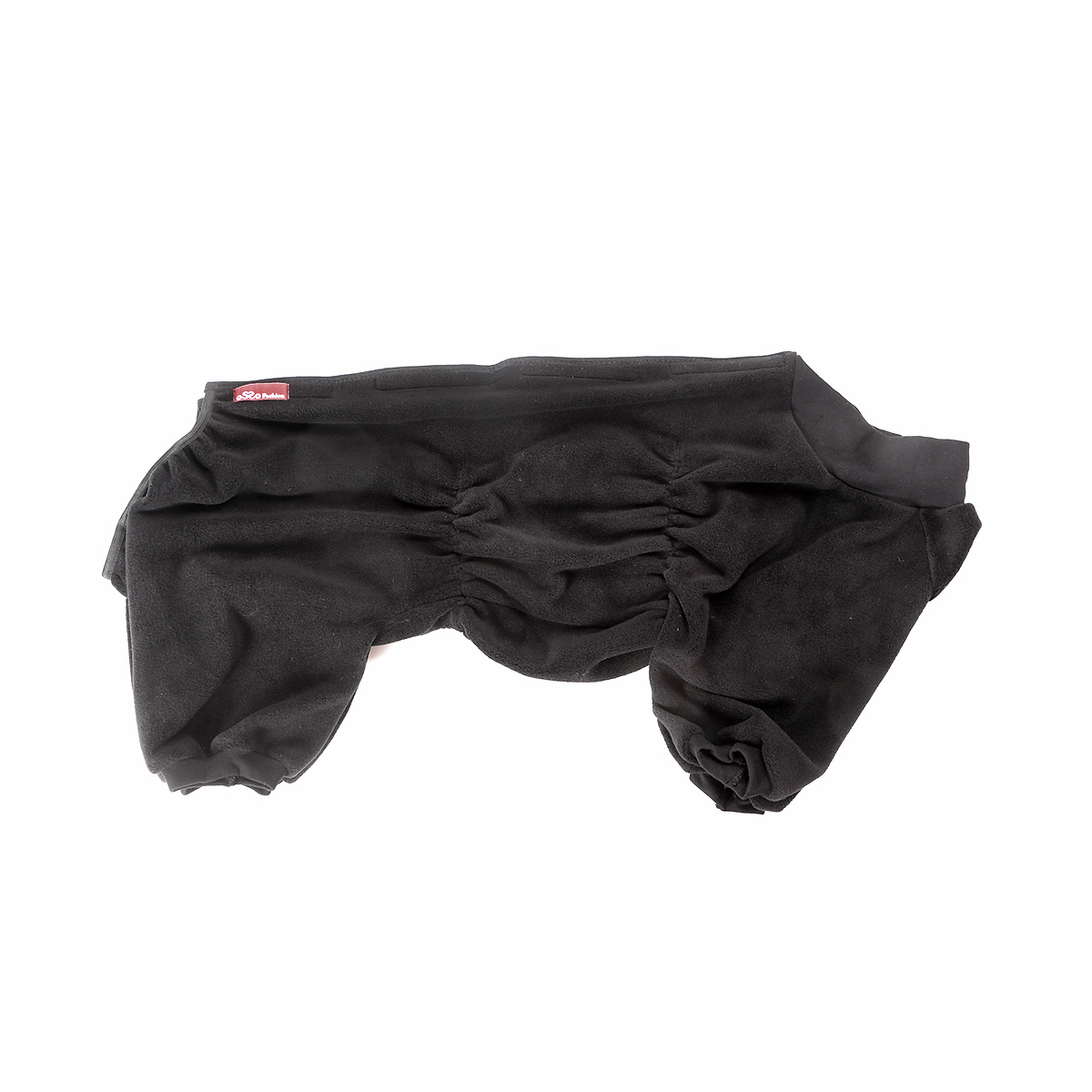 Комбинезон для собак Osso Fashion, для мальчика, цвет: графит. Размер 37Кф-1012Комбинезон для собак Osso Fashion - теплый, приятный на ощупь, эргономичный флисовый комбинезон на липучках. Комфортная посадка по корпусу достигается за счет резинок-утяжек под грудью и животом. На воротнике имеются завязки, для дополнительной фиксации Можно носить самостоятельно и как поддевку под комбинезон для собак на грязь.Отлично стирается, быстро сохнет.Длина спинки: 37 см.Объем груди: 50-60 см.