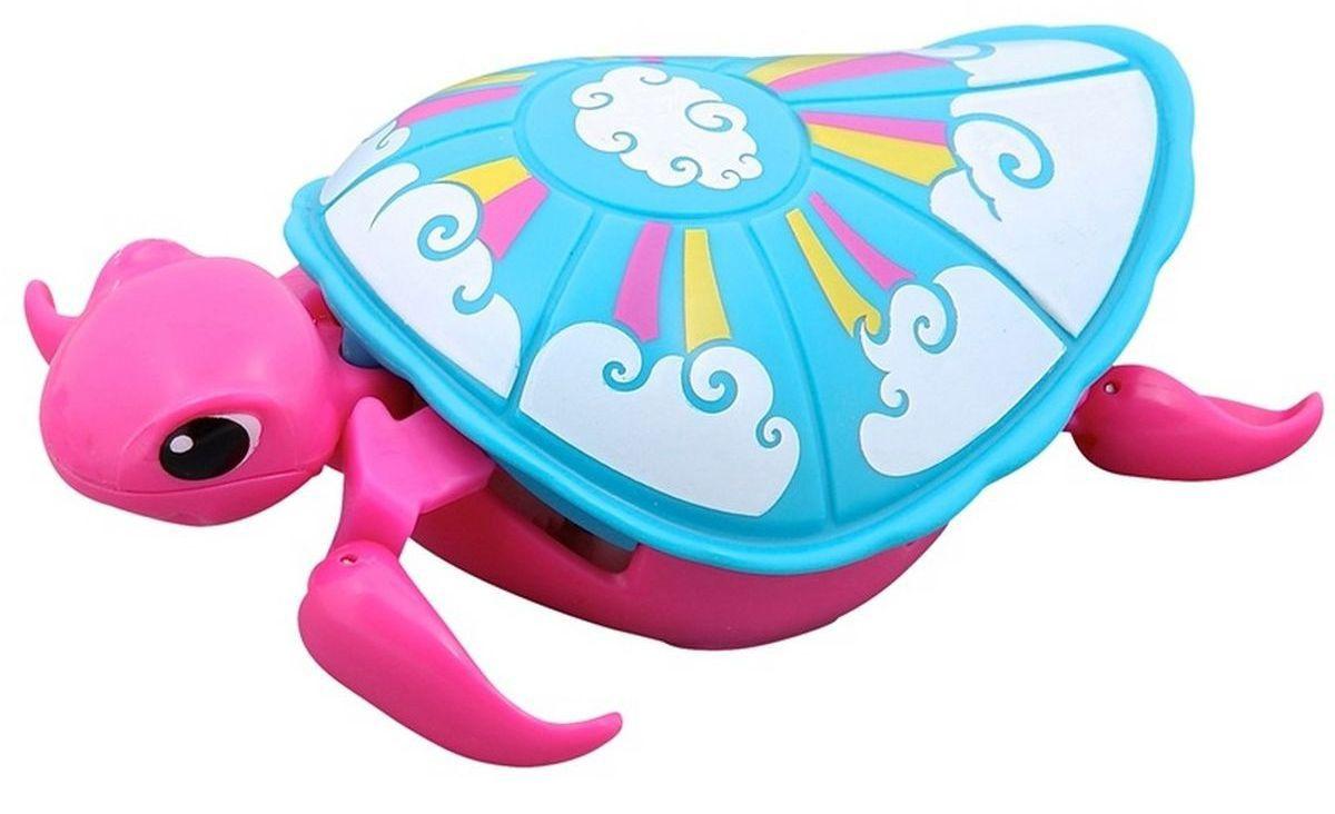 Little Live Pets Интерактивная игрушка Черепашка цвет розовый голубой черепашка little live pets в аквариуме