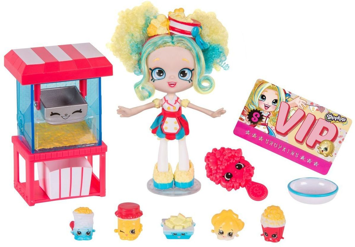 Shopkins Игровой набор с мини-куклой Лавка попкорна Попетт игровые наборы shopkins игровой набор веселая кухня