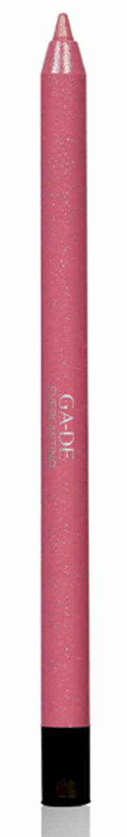 GA-DE Карандаш для губ Everlasting, тон № 86, 0,5 г122500086Плотная силиконовая текстура. Матовые и глянцевые оттенки. Устойчивая формула. Аргановое масло защищает кожу губ и обеспечивает мягкое и комфортное нанесение. Силиконовый карандаш корректирует контур губ. Он проводит чуть матовую линию, заполняет собой морщинки и не дает помаде или блеску растекаться. Хорошо подходят для использования летом и во время отпуска, так как не будет растекаться под воздействием солнца и жары.