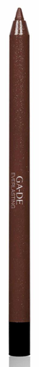 GA-DE Карандаш для губ Everlasting, тон № 91, 0,5 г122500091Плотная силиконовая текстура. Матовые и глянцевые оттенки. Устойчивая формула. Аргановое масло защищает кожу губ и обеспечивает мягкое и комфортное нанесение. Силиконовый карандаш корректирует контур губ. Он проводит чуть матовую линию, заполняет собой морщинки и не дает помаде или блеску растекаться. Хорошо подходят для использования летом и во время отпуска, так как не будет растекаться под воздействием солнца и жары.