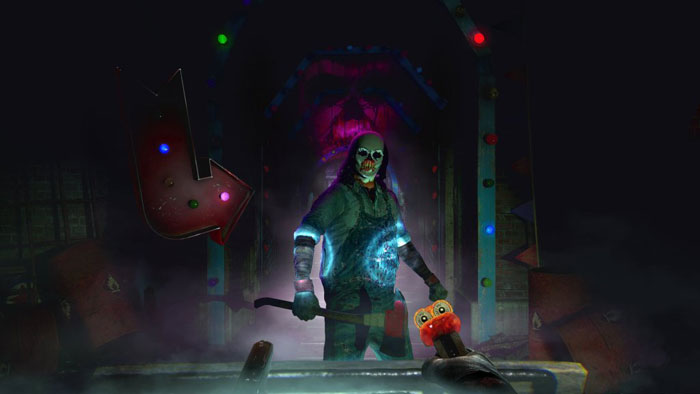 Until Dawn:  Rush Of Blood (только для VR) (PS4) Supermassive Games