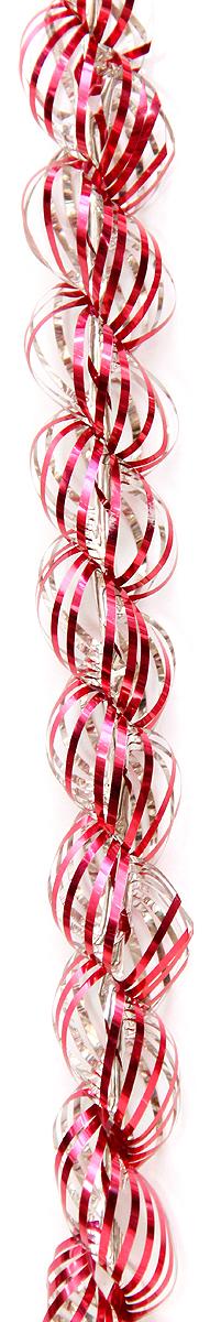Мишура новогодняя Magic Time, цвет: красный, диаметр 4 см, длина 1,5 м. 3818338183/75774Мишура новогодняя Magic Time, выполненная из ПЭТ (полиэтилентерефталата), поможет вам украсить свой дом к предстоящим праздникам. Новогодняя елка с таким украшением станет еще наряднее. Новогодней мишурой можно украсить все, что угодно - елку, квартиру, дачу, офис - как внутри, так и снаружи. Можно сложить новогодние поздравления, буквы и цифры, мишурой можно украсить и дополнить гирлянды, можно выделить дверные колонны, оплести дверные проемы.