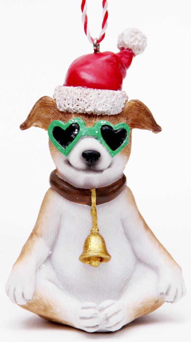 Украшение новогоднее подвесное Феникс-Презент Собака в зеленых очках, высота 10 см41953Новогоднее подвесное украшение Феникс-Презент Собака в зеленых очках выполнено из полирезина в виде собаки в очках. С помощью специальной петельки украшение можно повесить в любом понравившемся вам месте. Но, конечно, удачнее всего оно будет смотреться на праздничной елке.Елочная игрушка - символ Нового года. Она несет в себе волшебство и красоту праздника. Создайте в своем доме атмосферу веселья и радости, украшая новогоднюю елку нарядными игрушками, которые будут из года в год накапливать теплоту воспоминаний.